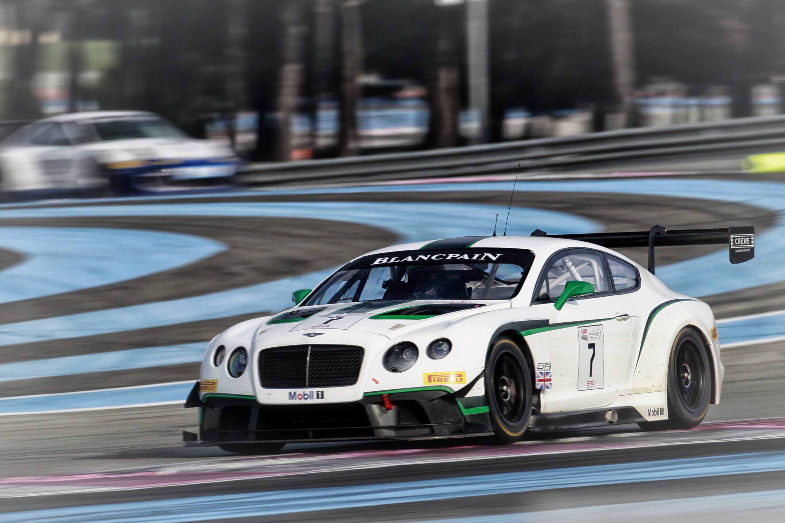 Blancpain Endurance Series 2014test days Paul Ricard